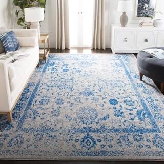 Safavieh Adirondack Grey/ Blue Rug (8' x 8' Square)
