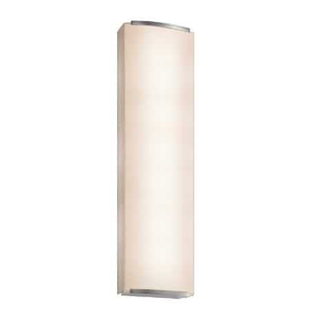 Sonneman Lighting Wave Shade 3 light Nickel Sconce