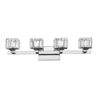 Silver Orchid Doris 4-light Chrome Bath/ Vanity Light
