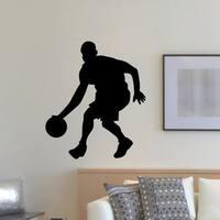 Basketball Vinyl Wall Art Decal Sticker