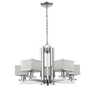 Chloe Contemporary 5-light Chrome Chandelier
