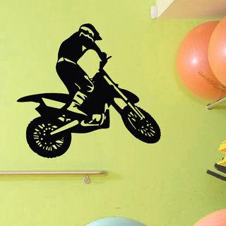 Bike Motorcycle Vinyl Wall Art Decal Sticker