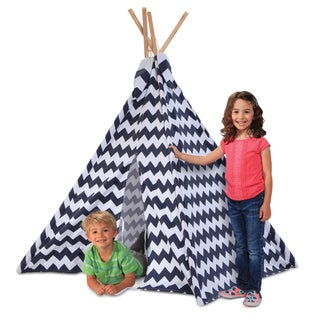 Discovery Kids Zig Zag PatternI ndoor/Outdoor Play Teepee