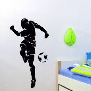 Soccer Player Vinyl Wall Art Decal Sticker