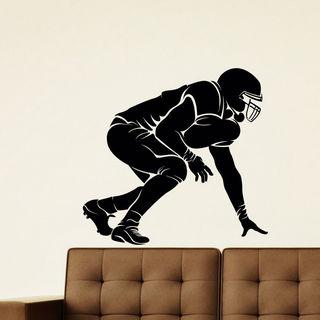 Football Vinyl Wall Art Decal Sticker
