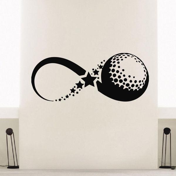 Baseball Infinity Sign Vinyl Wall Art Decal Sticker