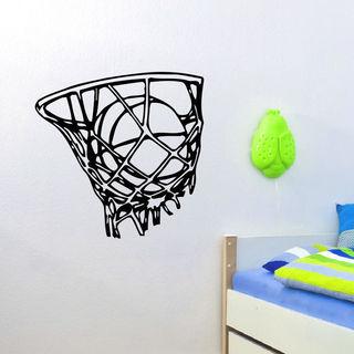 Basketball Hoop Vinyl Wall Art Decal Sticker