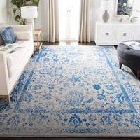 Safavieh Adirondack Vintage Distressed Grey / Blue Rug - 10' square