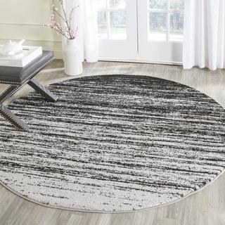 Safavieh Adirondack Modern Silver/ Black Rug (6' Round)