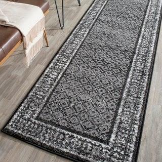 Safavieh Adirondack Black/ Silver Rug (2'6 x 10')