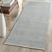 Safavieh Hand-Tufted Boston Grey Cotton Rug - 2'3 x 7'