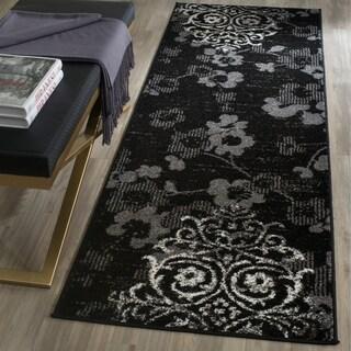Safavieh Adirondack Black/ Silver Rug (2'6 x 6')