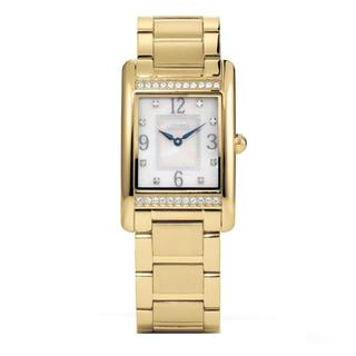 Coach Women's 14501817 Lexington Rectangle Goldtone Stainless Steel Bracelet Watch