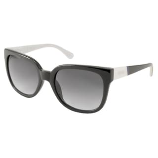 Kenneth Cole Reaction KC2729 Women's Black Rectangular Sunglasses