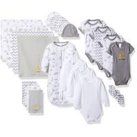Spasik Baby Infants' Cotton Essential 23-piece Layette Gift Set