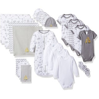 Spasik Baby Infants' Cotton Essential 23-piece Layette Gift Set