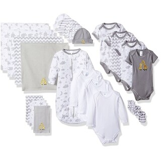 Spasik Baby Infants' Cotton Essential 23-piece Layette Gift Set (2 options available)