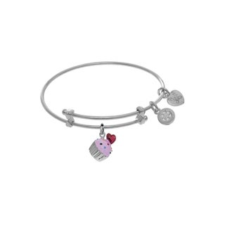 Angelica Cupcake Charm Tween Bangle