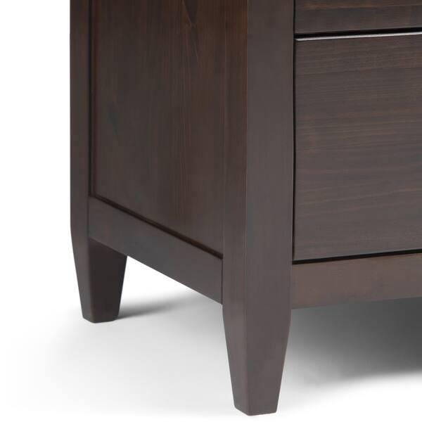 Shop WYNDENHALL Sterling Solid Wood 58 inch Wide ...