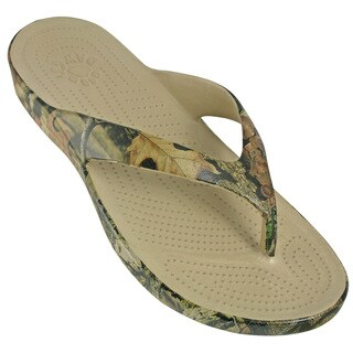DAWGS Men's Mossy Oak Flip Flops