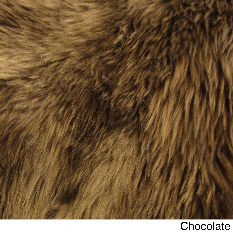 Northland Supreme Sheepskin Wool Single Pelt Shag Rug (2'...