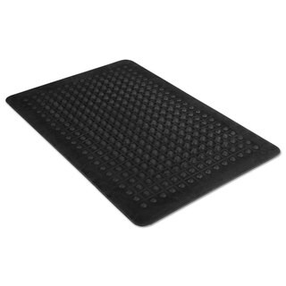 Guardian Flex Step Black Rubber Anti-Fatigue Mat 2'x3'