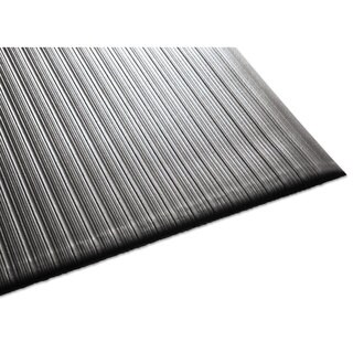Guardian Air Step Black Antifatigue Mat 3'x12'