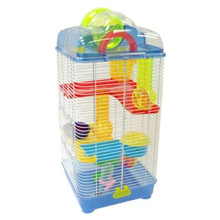 Triple Level Open Top Hamster Cage