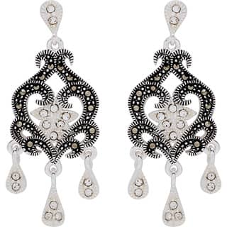 Chandelier Crystal, Glass & Bead Earrings - Shop The Best Deals ...