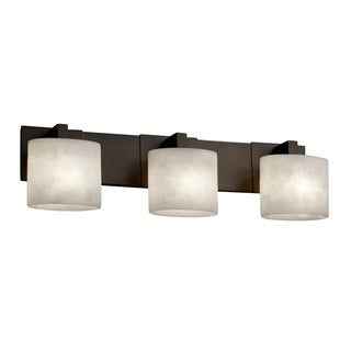 Justice Design Group Clouds Modular 3-light Dark Bronze Bath Bar