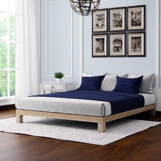 Porch & Den Lehua Gold Motif Design Aura Deluxe Platform Bed