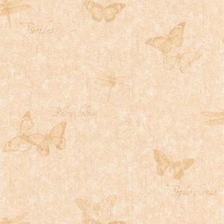 Brewster Green White Stripes Wallpaper 15472767