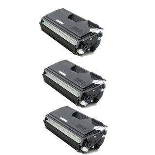Brother TN670 Compatible Black Toner Cartridge for Brother HL-6050 (Pack of 3)