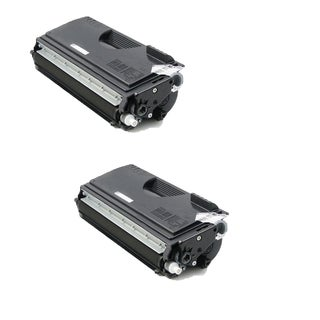 Brother TN670 Compatible Black Toner Cartridge for Brother HL-6050 (Pack of 2)