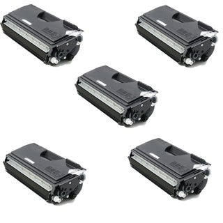 Brother TN670 Compatible Black Toner Cartridge for Brother HL-6050 (Pack of 5)