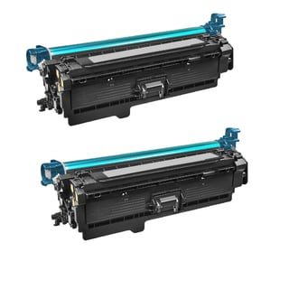 Canon 332 C Compatible Cyan Toner Cartridge for Canon ImageClass LBP7780Cdn (Pack of 2)