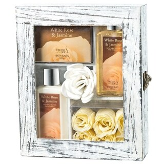 Freida and Joe White Rose Jasmine 5-piece Gift Set