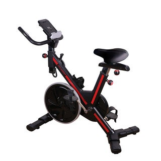 Fitleader Exercise Bike Bicycle Fitness Workout Upright Cycling Bike Adjustable Resistance Indoor Stationary Cardio Indoor Gym