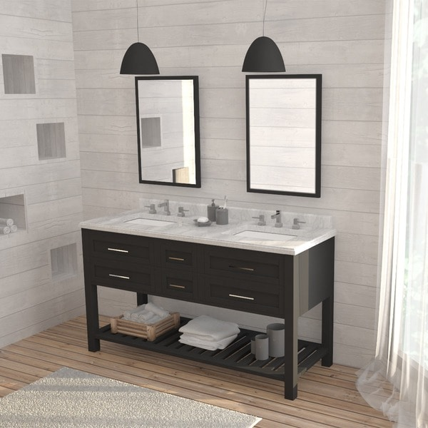 shop ove decors sarasota 60 inch sink bathroom 10418