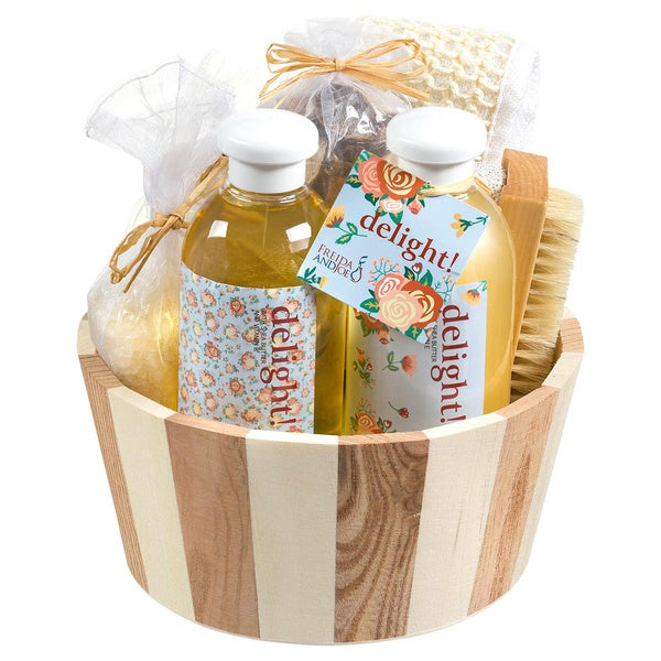Delight Bath and Spa Gift Set