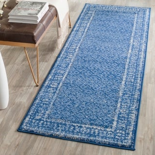 Safavieh Adirondack Light Blue/ Dark Blue Rug (2'6 x 6')