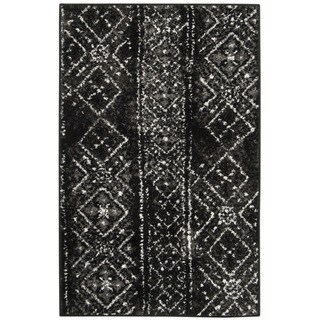 Safavieh Adirondack Vintage Boho Black/ Silver Rug - 2'6 x 4'
