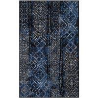 Safavieh Adirondack Vintage Boho Silver/ Black Rug - 2'6 x 4'