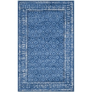 Safavieh Adirondack Vintage Light Blue/ Dark Blue Rug (2'6 x 4')