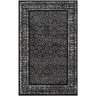 Safavieh Adirondack Black/ Silver Rug (2'6 x 4')