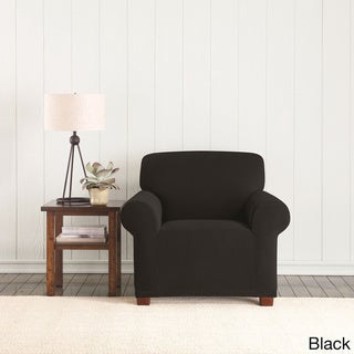 Sure Fit Simple Stretch Corduroy One Piece Chair Slipcover