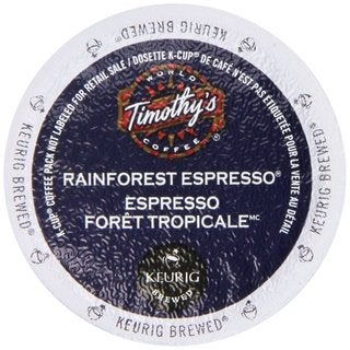Timothy's Rainforest Espresso Extra Bold K-Cup