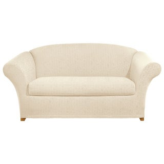 Sure Fit Stretch Ava Separate Loveseat Slipcover