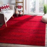Safavieh Adirondack Modern Red/ Black Rug - 5'1 x 7'6