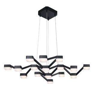 Sonneman Lighting Lattice 16 light LED Square Pendant
